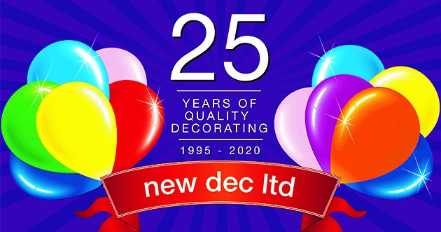 New Dec Ltd Celebrating 25 Years